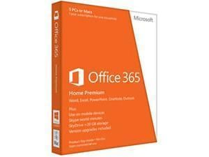 Office 365 Home Premium Medialess Retail Box - 1 Year Subscription
