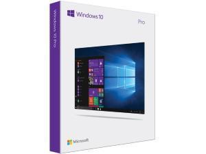 Windows 10 Professional - 32-bit/64-bit, English – Flash Drive