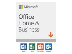 Microsoft Office Home And Business 2019 - Win, Mac – English - Electronic Software Download