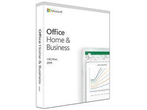Microsoft Office Home Andamp; Business 2019 - Medialess Win, Mac - English