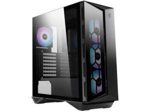 MSI MPG Series GUNGNIR 110R Mid Tower Gaming Case - Black