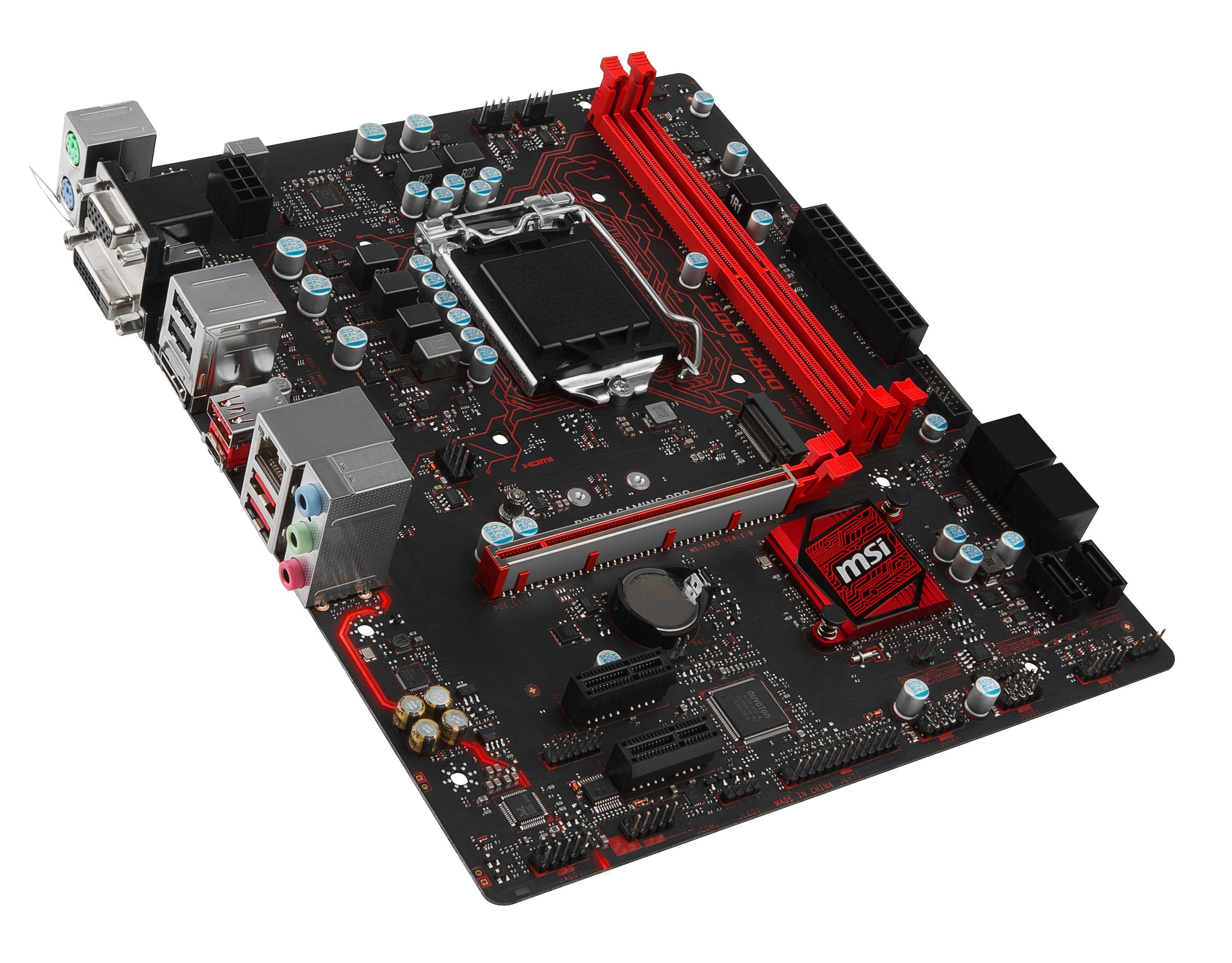MSI B250M GAMING PRO Intel B250 Socket 1151 Motherboard