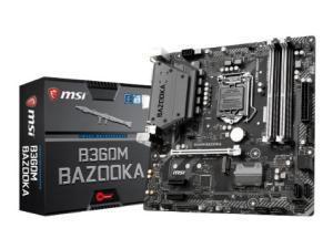 MSI B360M BAZOOKA LGA1151 B360 Micro-ATX Motherboard