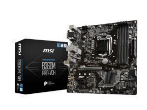 MSI B360M PRO-VDH LGA1151 B360 Micro-ATX Motherboard