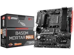 MSI B450M Mortar Max AMD AM4 B450 Chipset Micro-ATX Motherboard