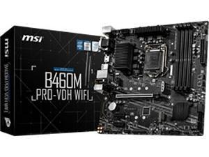 MSI B460M Pro-VDH-WIFI LGA1200 B460 Chipset mATX Motherboard