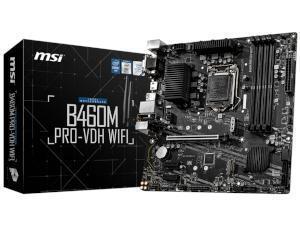 MSI B460M PRO-VDH WIFI Intel B460 Chipset Socket 1200 Motherboard
