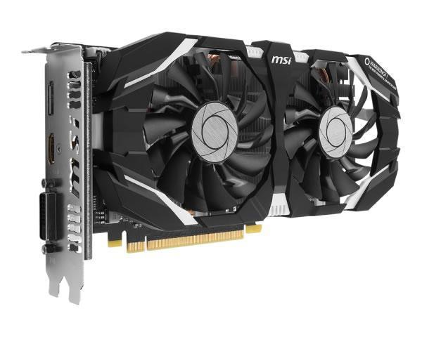 Msi Geforce Gtx 1060 Oc V1 6gb Gddr5 Graphics Novatech
