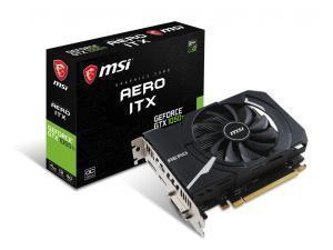 MSI GeForce GTX 1050 TI 4GB AERO ITX 4G OC 4GB GDDR5 Graphics Card
