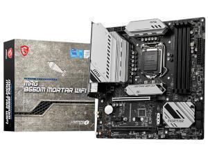 MSI MAG B560M MORTAR WIFI Intel B560 Chipset Socket 1200 Motherboard