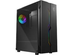 MSI MAG Series VAMPIRIC 010 Mid Tower Gaming Case - Black