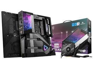 MSI MEG Z590 GODLIKE Intel Z590 Chipset Socket 1200 Motherboard