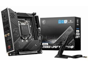 MSI MEG Z590I UNIFY Intel Z590 Chipset Socket 1200 Motherboard