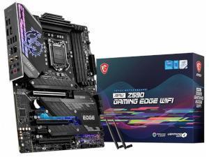 MSI MPG Z590 GAMING EDGE WIFI Intel Z590 Chipset Socket 1200 Motherboard