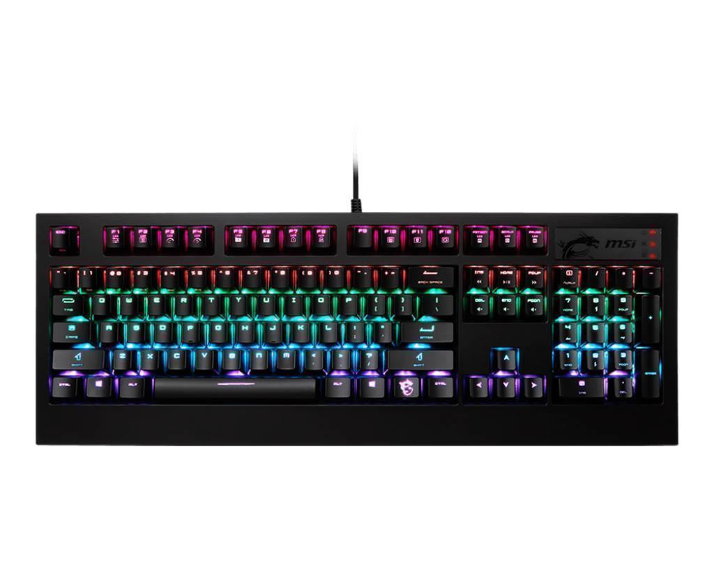 MSI GK-701 RGB Mechanical Gaming Keyboard With Cherry MX