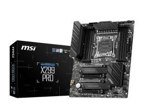 MSI X299 PRO LGA2066 ATX Motherboard