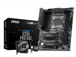 MSI X299 PRO 10G LGA2066 ATX Motherboard