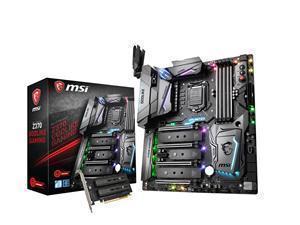 MSI Z370 Godlike Gaming Socket LGA 1151-V2 E-ATX Motherboard