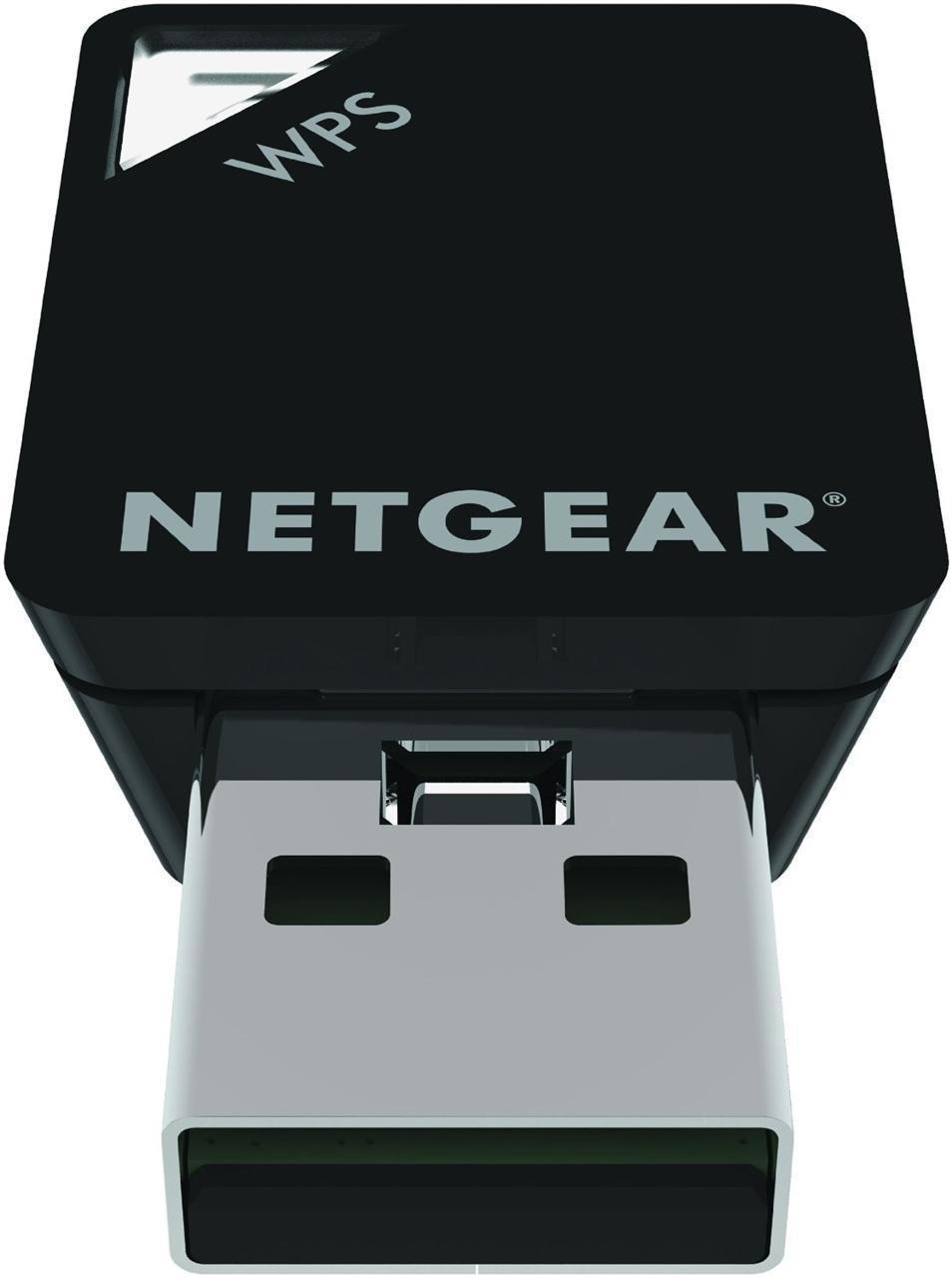 netgear a6100 600mbps wireless ac usb adapter novatech. Black Bedroom Furniture Sets. Home Design Ideas