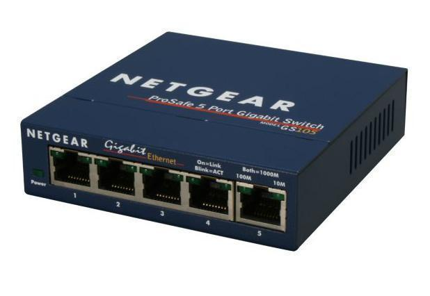 Netgear Gs105 Prosafe 5 Port Gigabit Switch Novatech