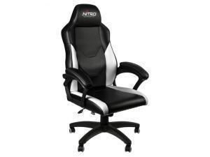 *B-stock item-90 days warranty*Nitro Concepts C100 Gaming Chair - Black/White