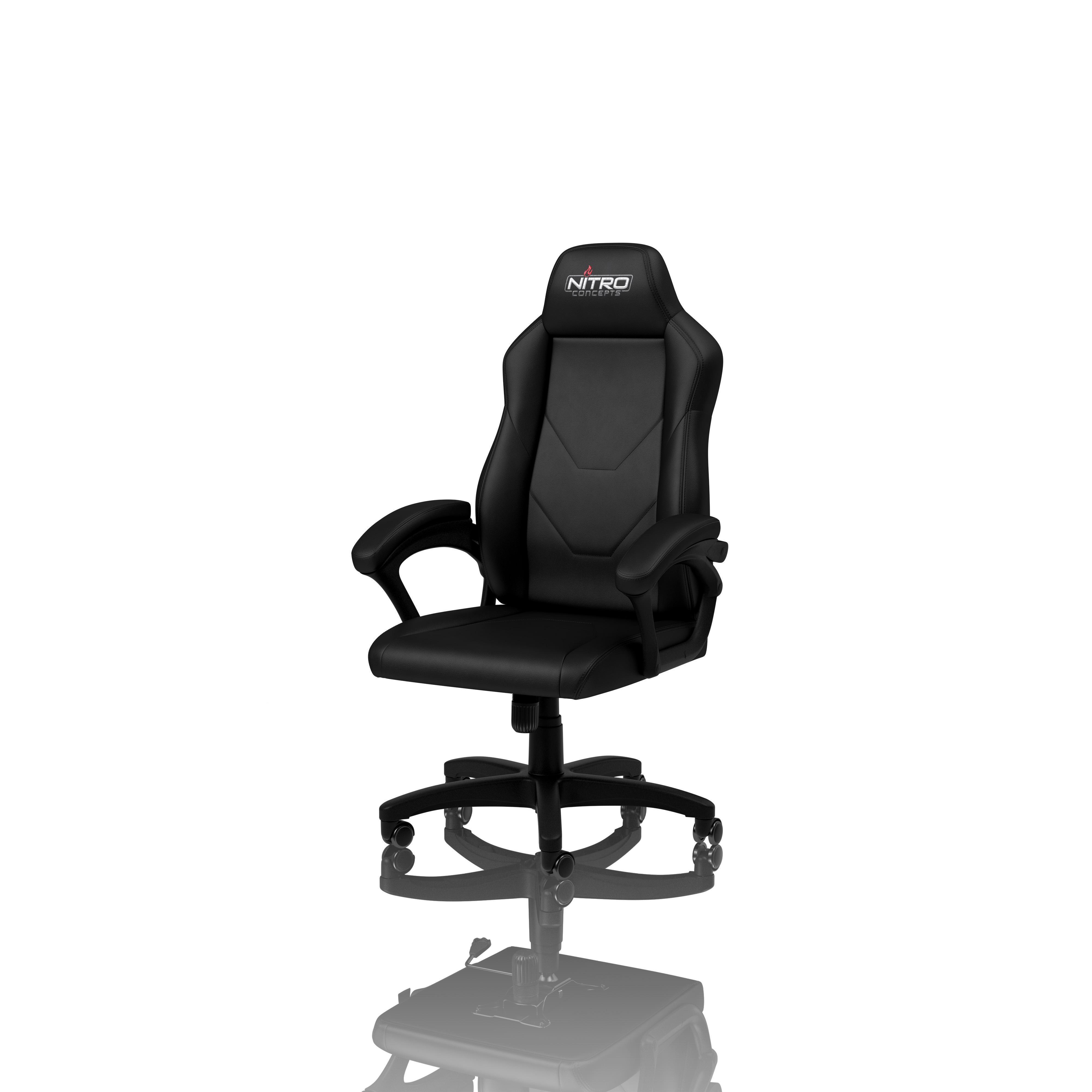 Nitro Concepts C100 Gaming Chair Black Novatech