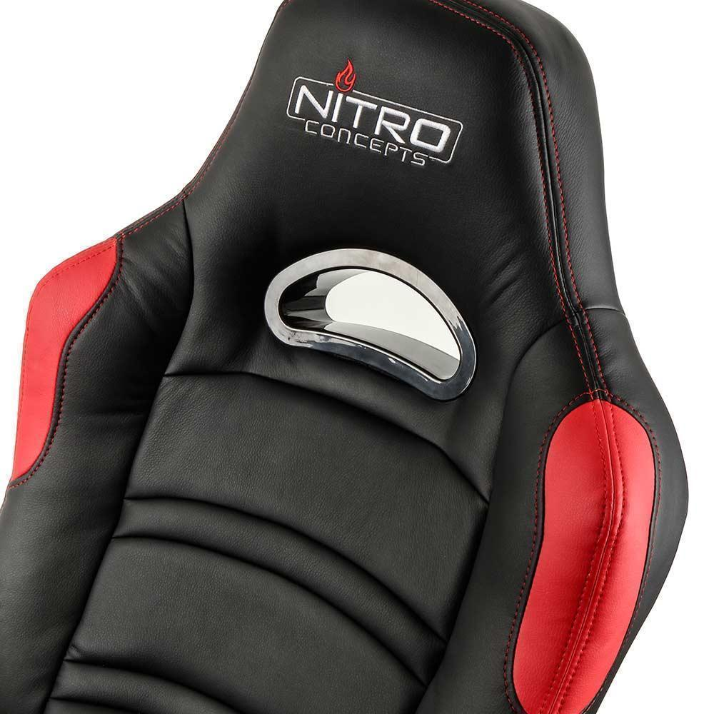 Nitro Concepts C80 Comfort Gaming Chair Black Red