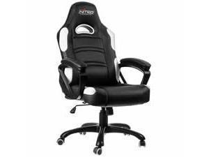 Nitro Concepts C80 Comfort Gaming Chair  Black  White