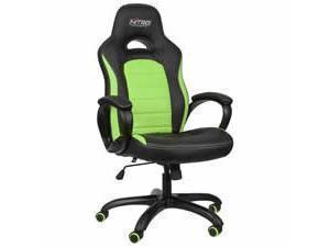 Nitro Concepts C80 Pure Gaming Chair  Black  Green