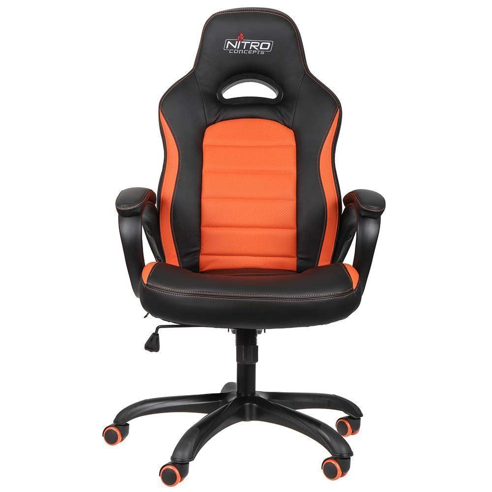 Nitro Concepts C80 Pure Gaming Chair Black Orange