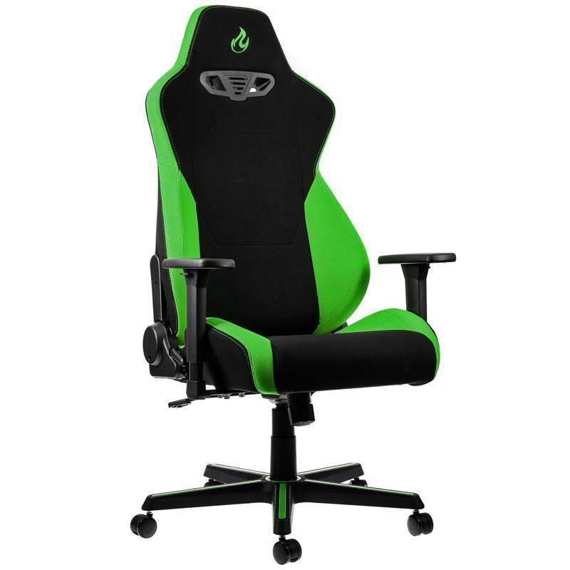 Pleasing Nitro Concepts S300 Fabric Gaming Chair Atomic Green Ibusinesslaw Wood Chair Design Ideas Ibusinesslaworg
