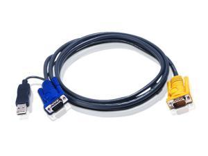 Aten KVM Cable USB PC to HD Switch 1.8m