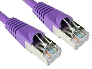 Cat6A Patch Cable 20m Violet