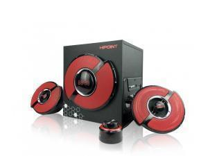 B-STOCK ITEM 90 DAYS WARRANTY HiPoint Gaming 2.1 Speaker with Bluetooth And LED Remote Control