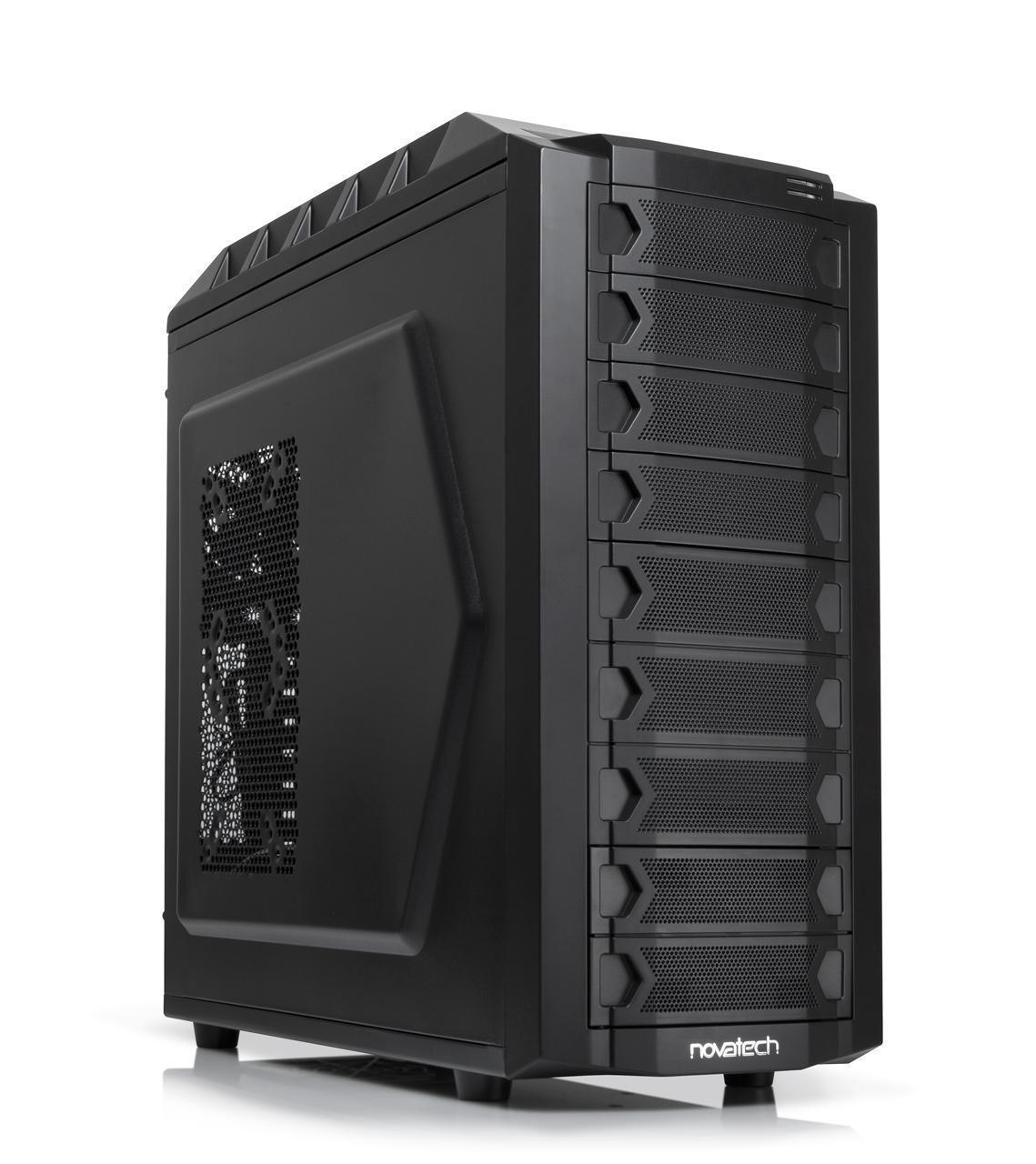 Novatech Eclipse High Performance Mid Tower Case Novatech