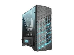 AZZA Onyx260X RGB  Black ATX Gaming Chassis with Tempered Glass side panel