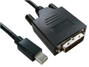Mini DisplayPort m To DVI-D m Cable 1m