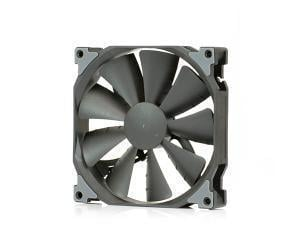 Novatech Black Case Fan - 140mm 3 pin