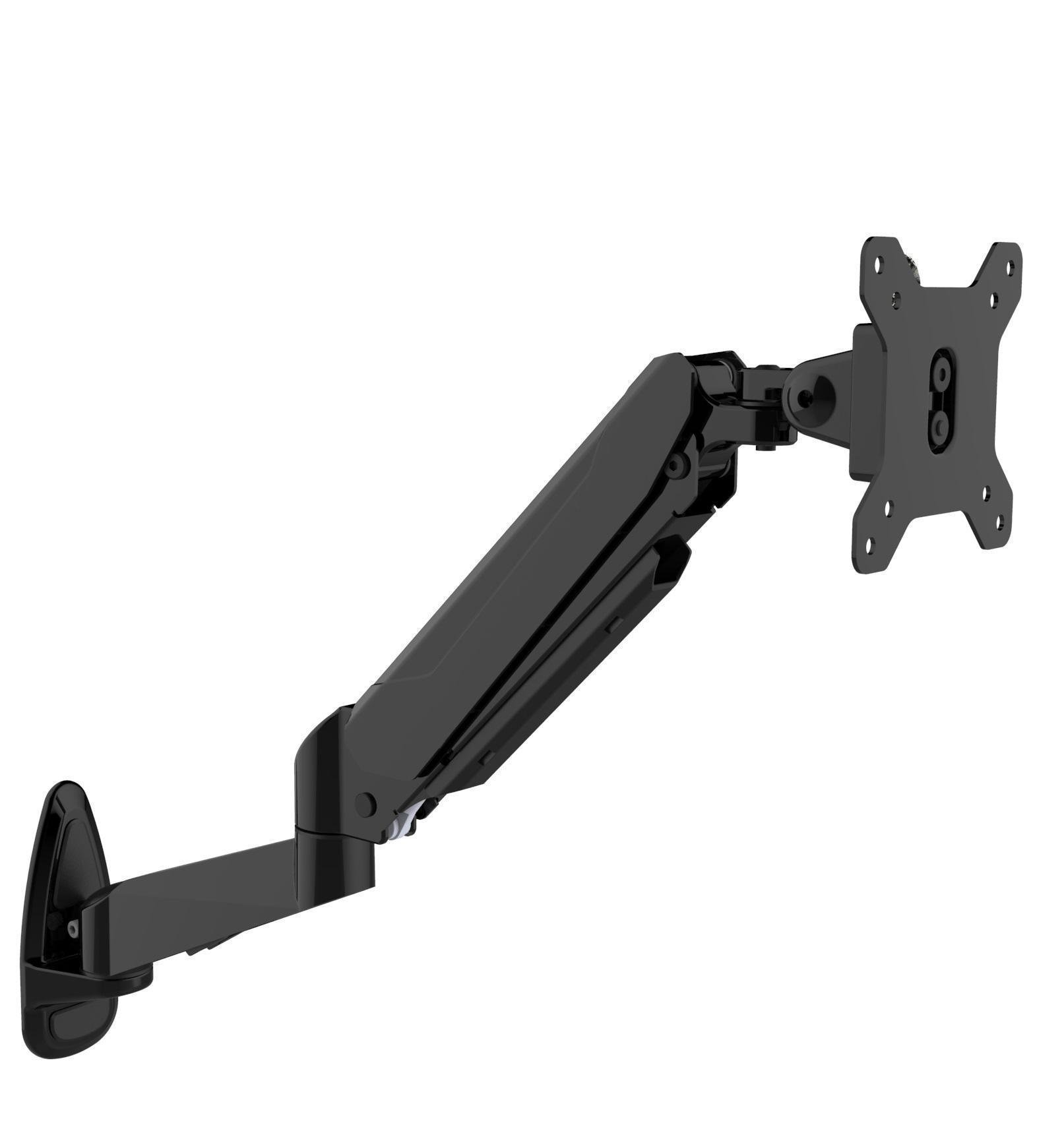 Novatech 15inch 27inch Single Monitor Arm Wall Mount Gas