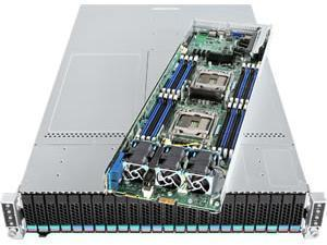 Intel 2U Virtual SAN (VSAN) Ready 4 Node Server