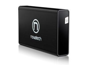 Novatech 3.5inch Aluminium SATA Enclosure USB 3.0 - Black