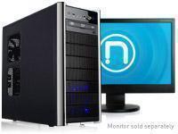 Novatech Black NTI09  - Intel  Core i5 3550 Processor  - 8GB 1333Mhz DDR3 Memory  - 2TB SATA Hard Drive - Crucial 128GB SSD Hard Drive  - NVIDIA GTX 550 1GB Graphics