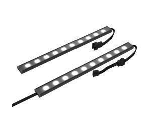NZXT Hue 2 RGB Under Glow LED Kit 200mm - 2x 200mm RGB LED Underglow Module
