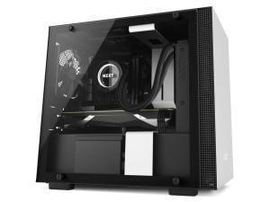 NZXT H200I Matte White Mini-ITX Tower PC Case