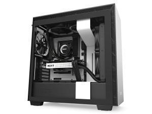 NZXT H710I ATX Mid Tower - Tempered Glass White