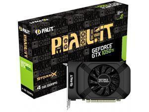B-STOCK ITEM 90 DAYS WARRANTYPALiT GeForce GTX 1050Ti StormX 4GB GDDR5 Graphics Card