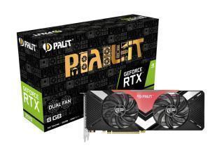 *B-stock item-90 days warranty*Palit GeForce RTX™ 2070 Dual 8G GDDR6 Graphics Card