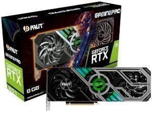 PALiT NVIDIA GeForce RTX 3070 Ti GAMING PRO 8GB GDDR6X Graphics Card