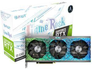 PALiT NVIDIA GeForce RTX 3070 Ti GameRock 8GB GDDR6X Graphics Card