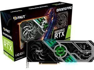 PALiT NVIDIA GeForce RTX 3080 GAMING PRO 10GB GDDR6X Graphics Card
